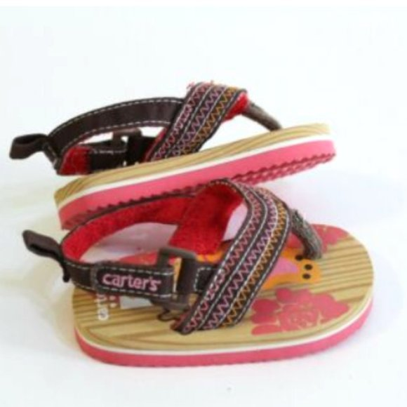 Shoes | Carters Baby Girl Sandals Size